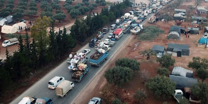 20,000+ more civilians flee Syria's Idlib