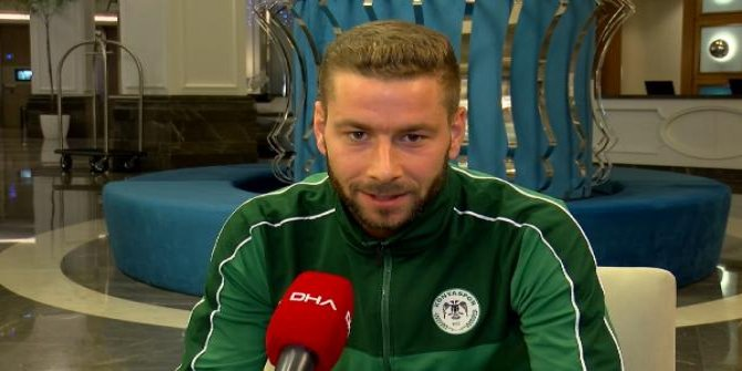 Konyasporlu Nejc Skubic: Birini seç derlerse...