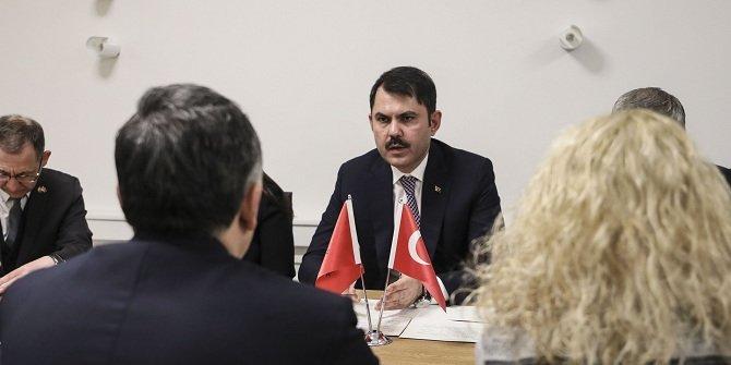 """Bakan Kurum: """"Arnavutluk'ta deprem konutlarının inşasına ocak sonu başlanacak"""""""