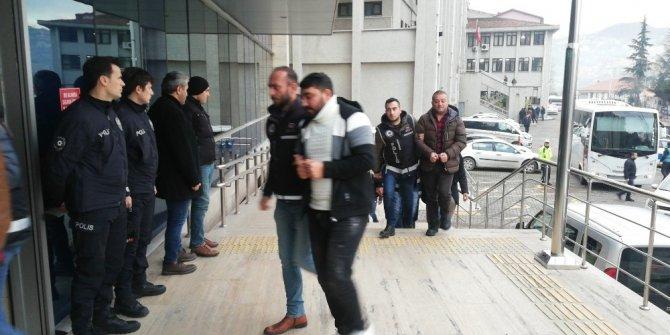 Zonguldak'ta tefeci operasyonu: 11 şüpheli adliyede