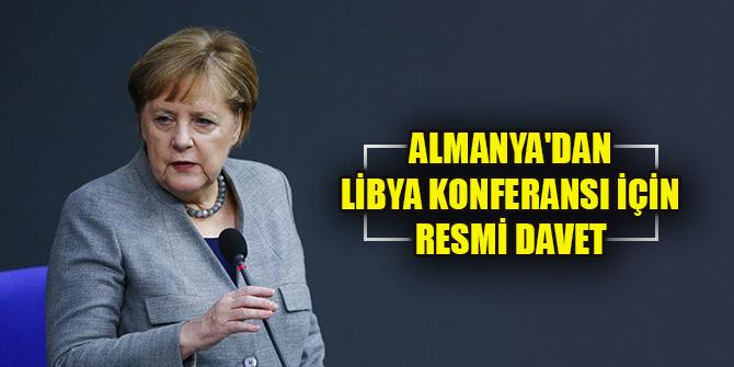 Almanya'dan Libya Konferansı için resmi davet