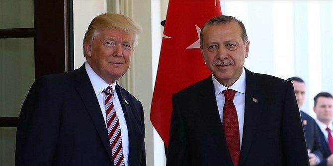 Cumhurbaşkanı Erdoğan ile ABD Başkanı Trump Libya ve İdlib'i görüştü