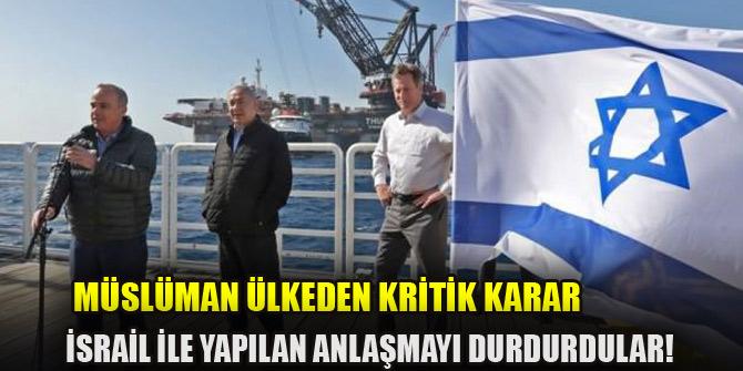 Ürdün'de İsrail'le yapılan ve tepki çeken anlaşmayı durdurdu!