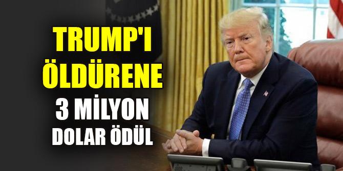 Trump'ı öldürene 3 milyon dolar ödül