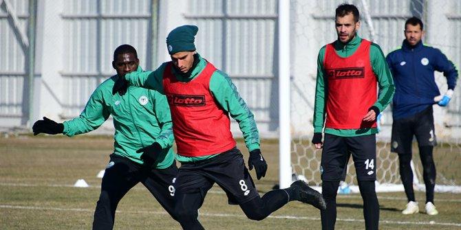 Konyaspor'da Riad Bajic antrenmana katılmadı
