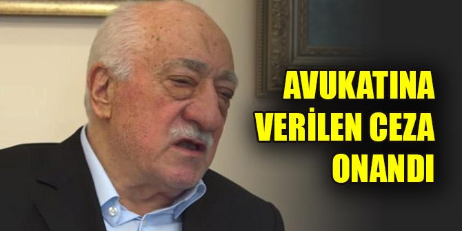 Yargıtay, FETÖ elebaşı Gülen'in avukatı Feti Ün'ün hapis cezasını onadı