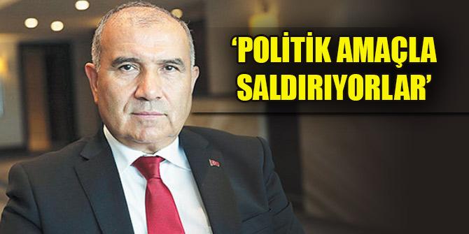 Ali Rıza Alaboyun: 'Politik amaçla saldırıyorlar'