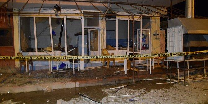 Konya'da iş yerinde maddi hasarlı patlama