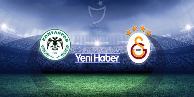 Konyaspor Galatasaray'ı konuk ediyor