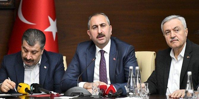 Adalet Bakanı Gül: Soruşturmalar büyük bir titizlikle devam etmektedir