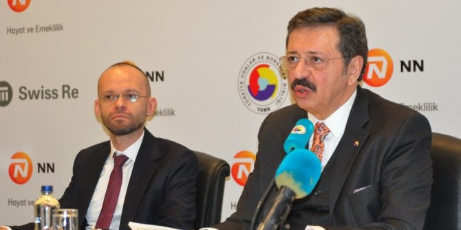 """TOBB Başkanı Hisarcıklıoğlu: """"2020'de reel sektör için umut hakim olacaktır"""""""