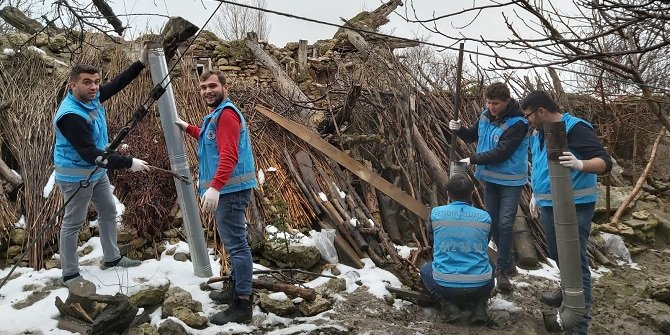 Beyşehir'de 'gençler yaşlılar el ele' projesi