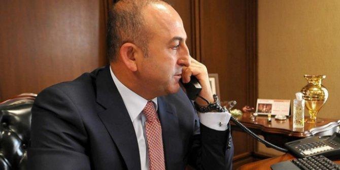 Bakan Çavuşoğlu Filistinli mevkidaşı Maliki ile görüştü