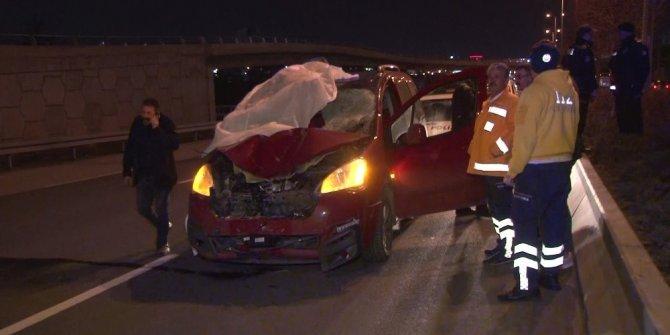 Başkentte hafif ticari aracın çarptığı yaya öldü