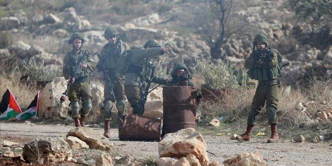 Batı Şeria'daki sözde barış planı protestolarında 97 Filistinli yaralandı