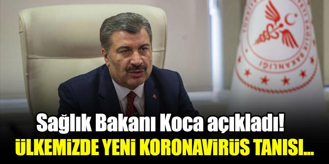 Sağlık Bakanı Koca'dan Koronavirüs açıklaması!