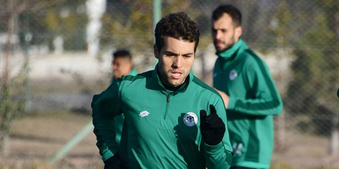 Konyaspor'da Guilherme'den etkili performans