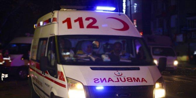Metro inşaatındaki kazada 4 kişi yaralandı