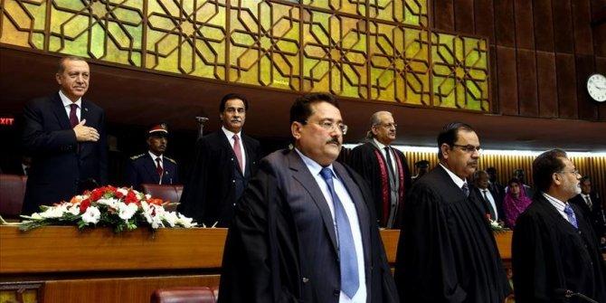 Cumhurbaşkanı Erdoğan, 4. kez Pakistan Parlamentosuna hitap edecek