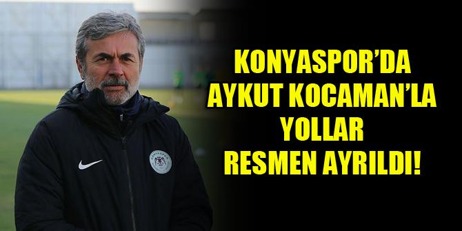 Konyaspor'da Aykut Kocaman'la yollar resmen ayrıldı!
