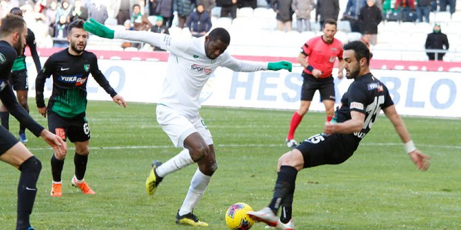 Konyaspor'da bitiricilik sorunu