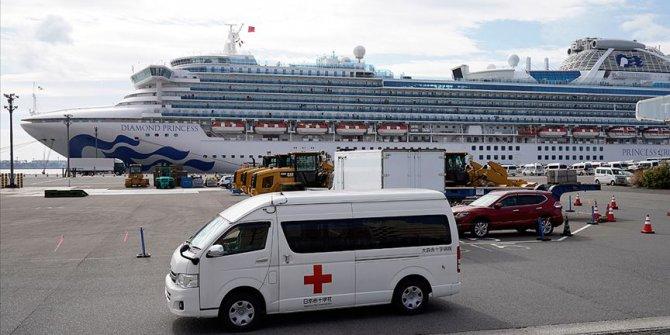 """Japonya'da karantina altındaki gemide 44 kişide daha """"Kovid-19"""" tespit edildi"""
