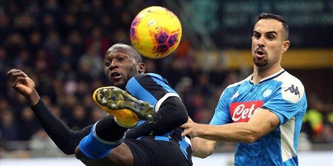 Napoli, kupada Inter'den avantajı kaptı