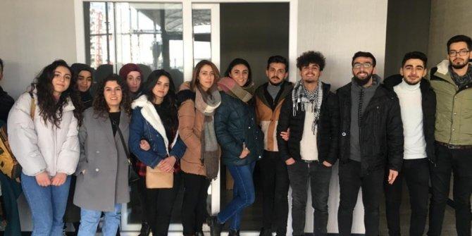 DÜ mimarlık öğrencileri inşaat şantiyesine teknik gezi düzenledi