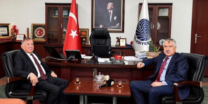 Başkan Karalar'dan, Akay'a destek ziyareti