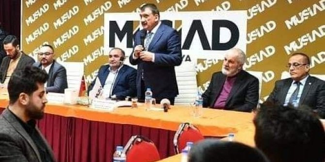 MÜSİAD dost meclisinin konuğu Başkan Gürkan oldu