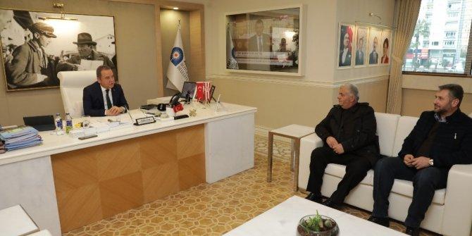 Konyalılar ve Karadenizliler Derneklerinden Başkan Böcek'e ziyaret