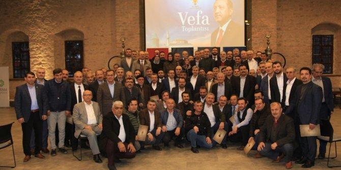 AK Parti ilçe başkanları vefa programında buluştu