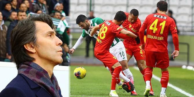 Konyaspor: 1 - Göztepe: 1 (İlk yarı)