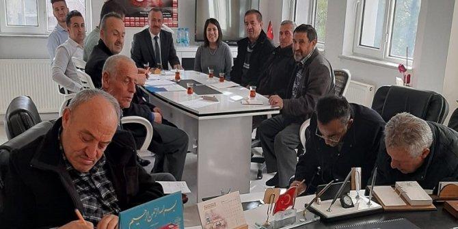 Yalıhüyük'ten Elazığ ve Malatya'daki depremzedelere yardım
