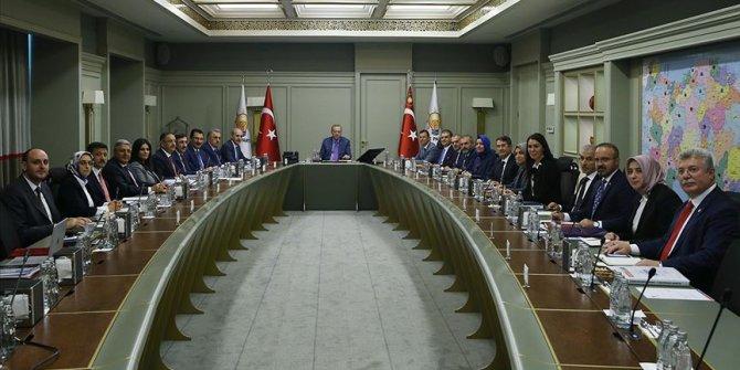 AK Parti MYK toplantısı yapıldı