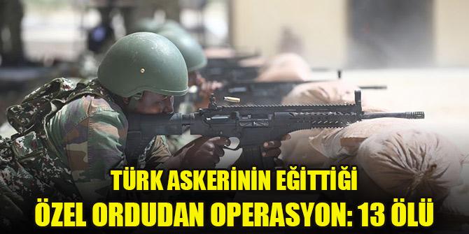 Türk askeri tarafından eğitilen özel ordudan Eş-Şebab'a operasyon: 13 ölü