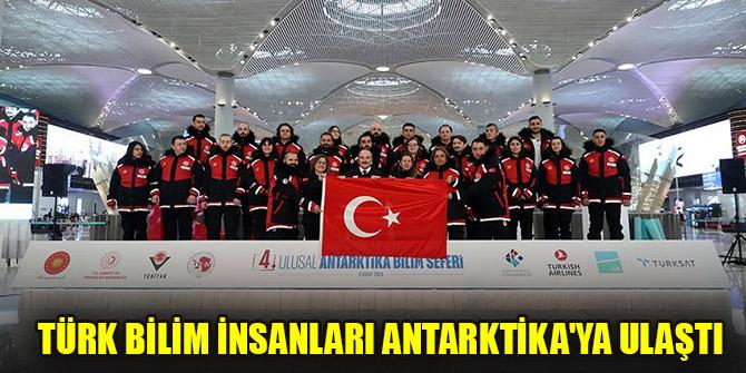 Sanayi ve Teknoloji Bakanı Varank: Türk bilim insanları Antarktika'ya ulaştı