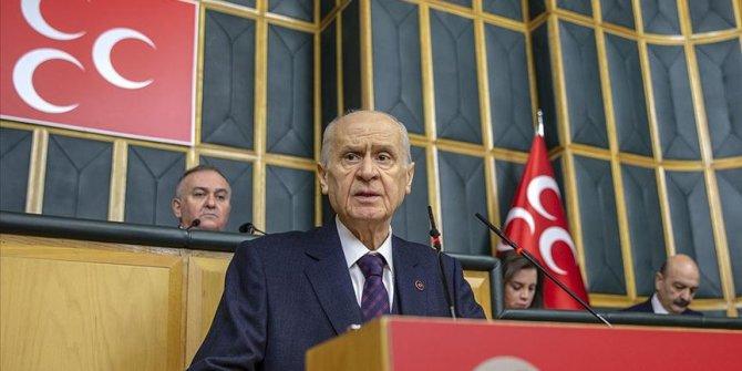 Bahçeli'den, Türkeş'in vefatının 23. yılı dolayısıyla anma mesajı