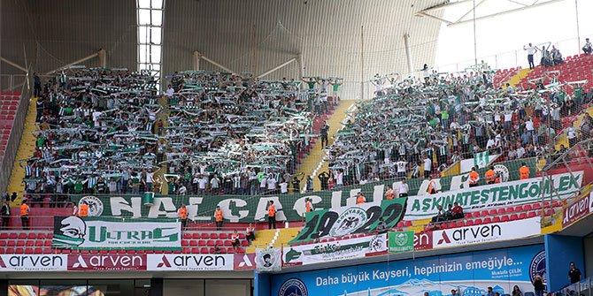 Kayserispor Konyaspor maçı biletleri satışa çıktı