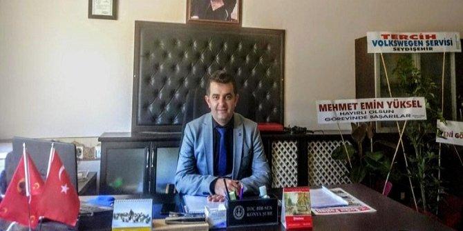 Bozkır İlçe Tarım ve Orman Müdürlüğüne Halil Durmuş atandı