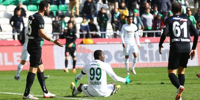 Konyaspor'da gol sıkıntısı