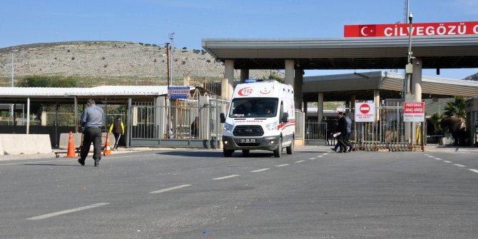 İdlib'de yaralanan askerler, Hatay'a getirildi