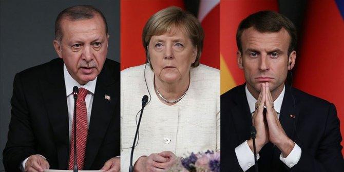 Erdogan discute d'Idleb et de la Libye avec Macron et Merkel