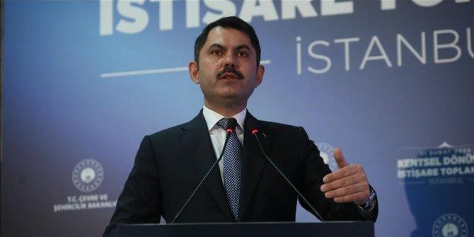 Bakan Kurum: Hazine taşınmazlarının ihaleleri iptal edildi