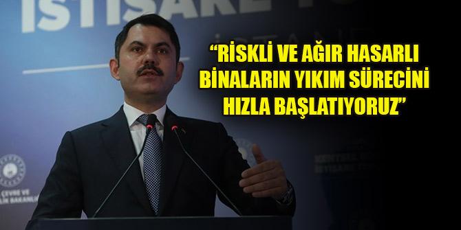 Kurum: İstanbul'da riskli ve ağır hasarlı binaların yıkım sürecini hızla başlatıyoruz
