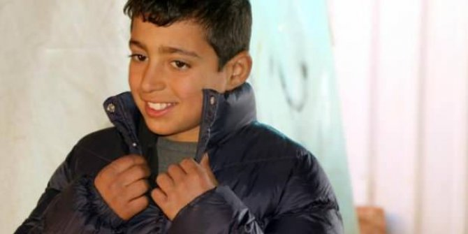 Artık yüzü gülüyor...Suriyeli Fuad'dan güzel haber