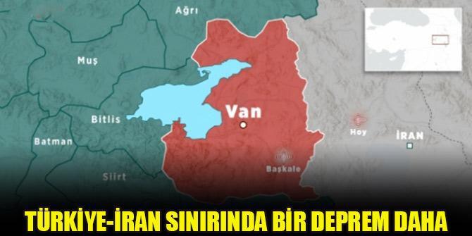 Türkiye-İran sınırında 5.9 büyüklüğünde bir deprem daha