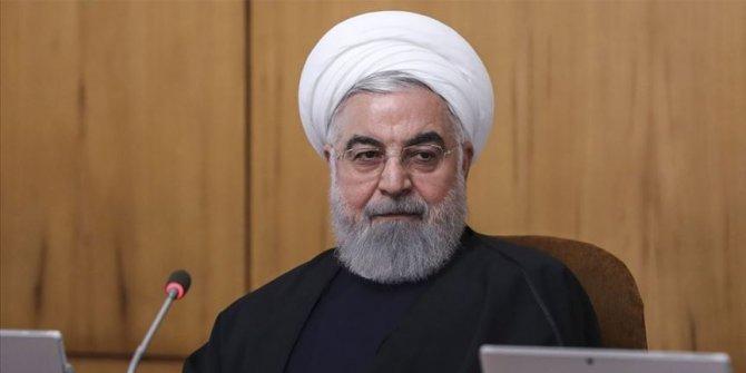"""Ruhani: """"ABD yaptırımları korona gibidir"""""""