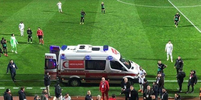 Kasımpaşa Denizlispor maçında şok olay