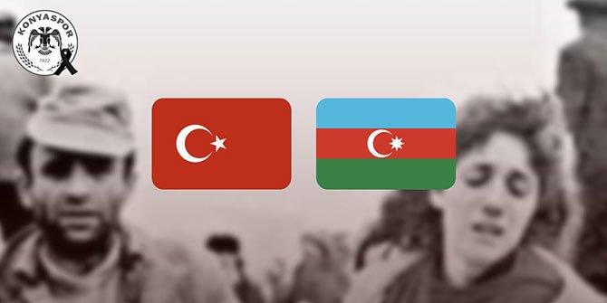 Konyaspor Hocalı katliamı'nı unutmadı
